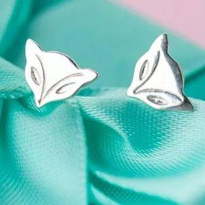 Jewelry - Last One ~ New Fox Stud Earrings